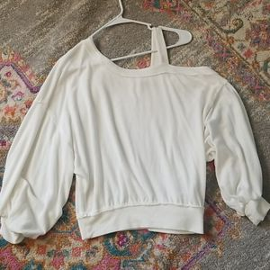 Free People Off-White Long Sleeve